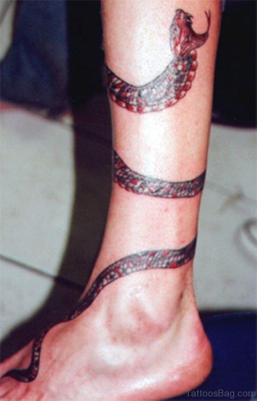 Amazing Snake Tattoo
