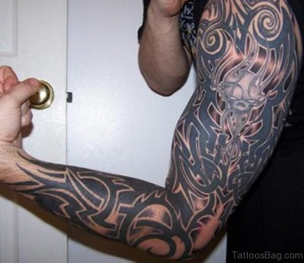 Amazing Tribal Tattoo For Men
