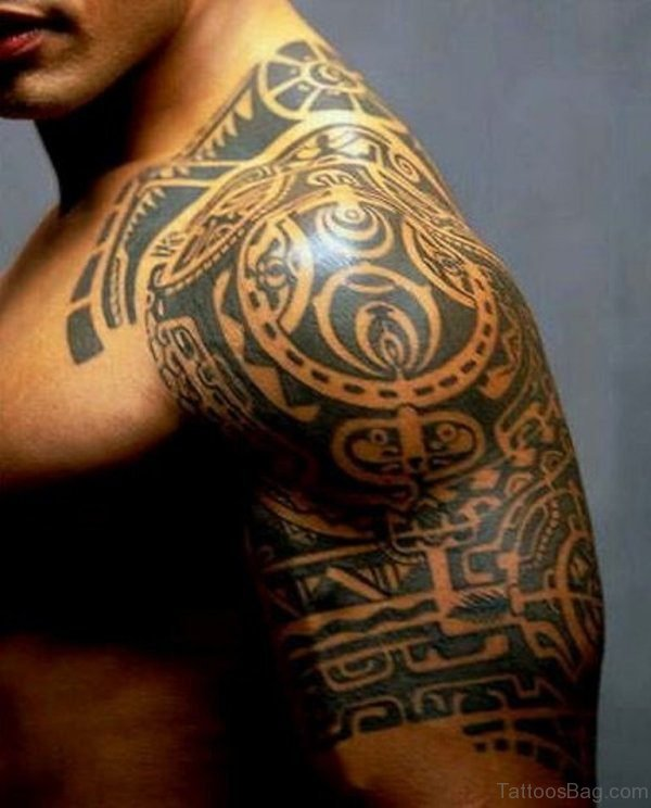 Amazing Tribal Tattoo