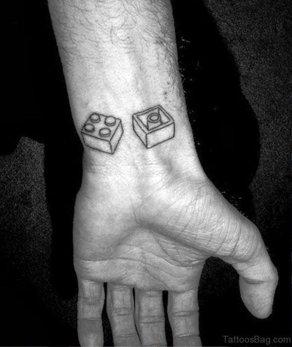 Amazing Wrist Tattoo For Men