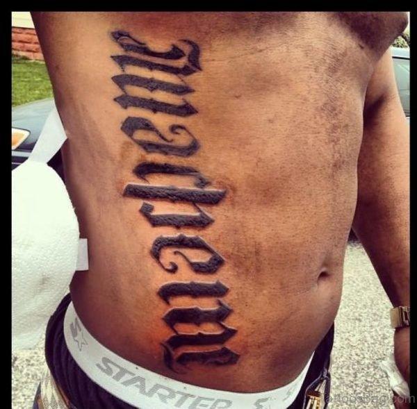 Ambigram Tattoo Image