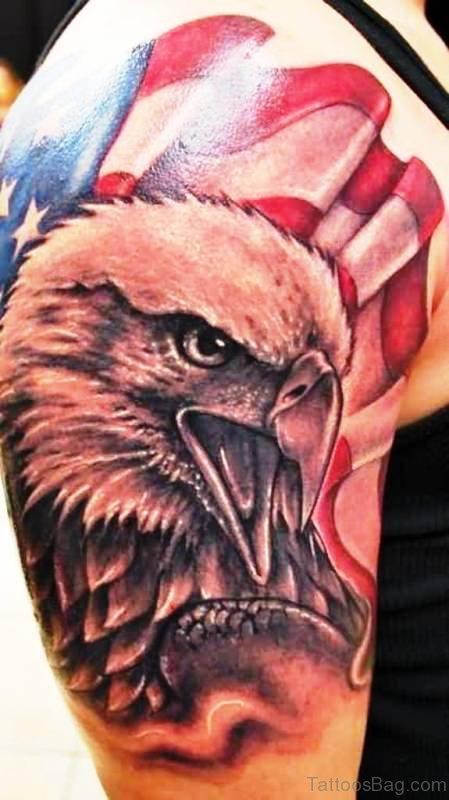 72 Stunning Eagle Tattoos On Shoulder