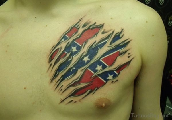 American Flag Tattoo design
