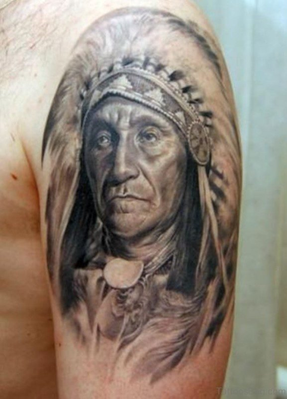 American Worrier Tattoo