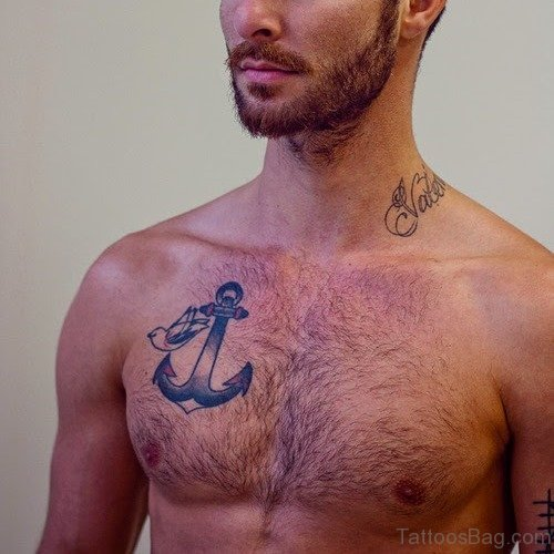 Anchor Tattoo For Men