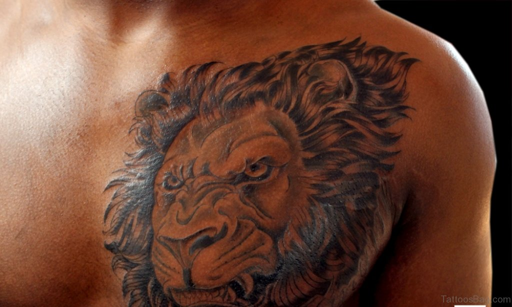 029c80fa7 60 Brilliant Lion Tattoos For Chest