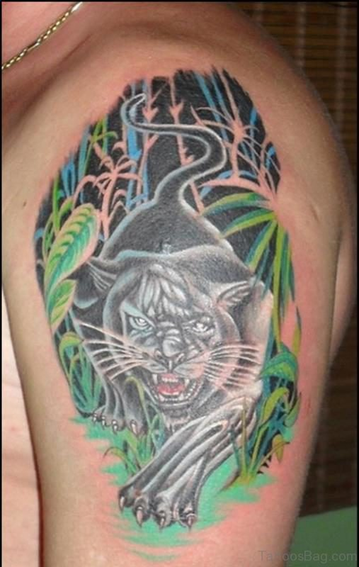Angry Tiger Tattoo 2