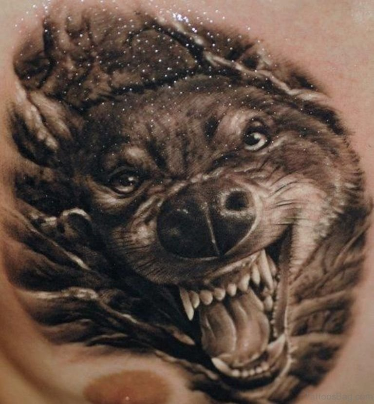 470a5fe67 50 Excellent Wolf Tattoos For Chest