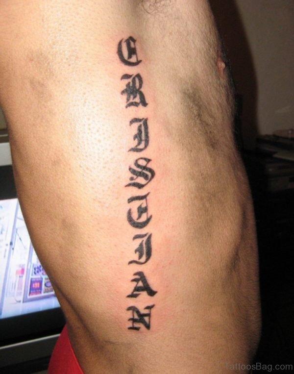 Arabic Tattoo 1