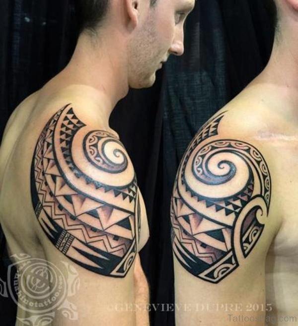 Armor Samoan Tattoo