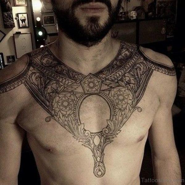 Cool Armor Tattoo Design
