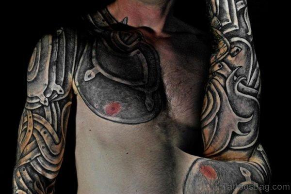 Armor Tattoo Image