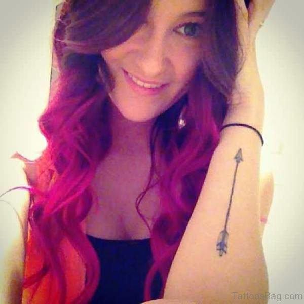 Arrow Tattoo On Arm
