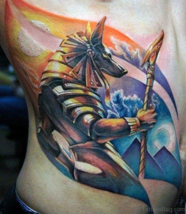 Attarctive Egyptian Tattoo
