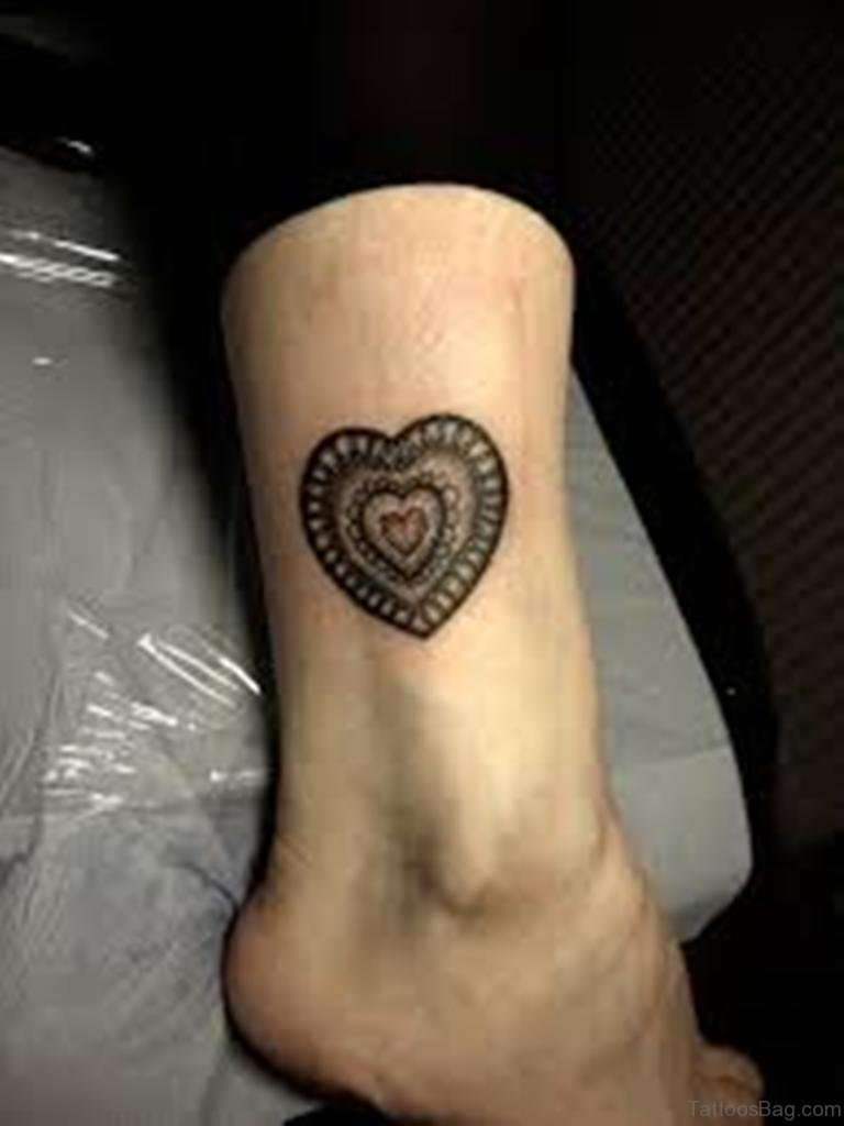 71 Mind Blowing Heart Tattoos On Leg
