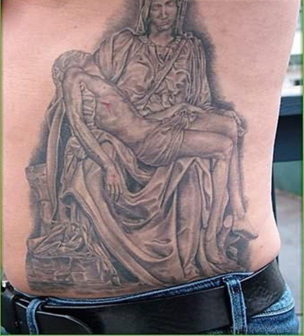 Attractive Jesus Tattoo