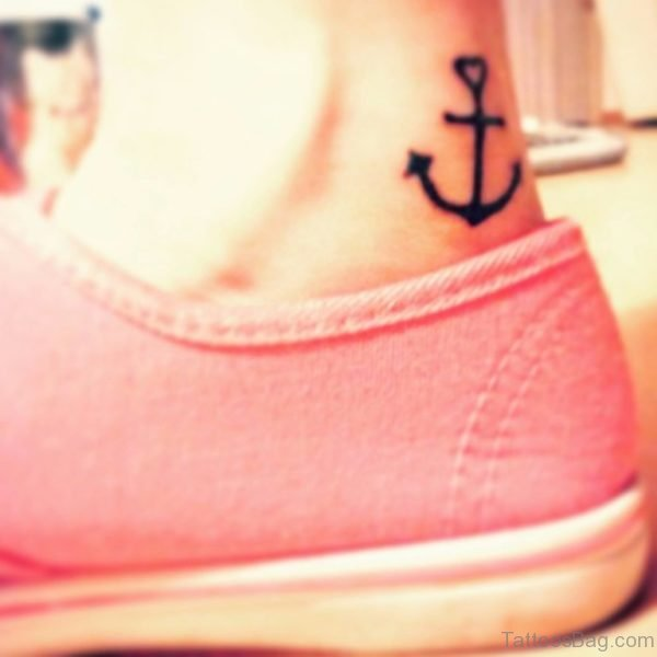 Attractive Ankle Tattoo Design