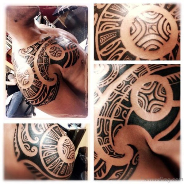 Attractive Armour Tattoo