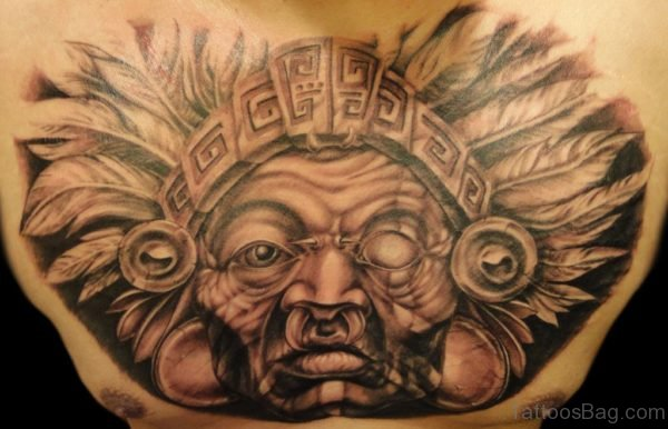 Attractive Aztec Tattoo