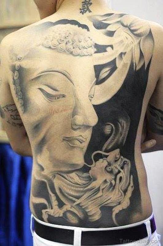 Attractive Buddha Tattoo Design 1
