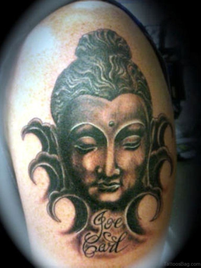 81 Nice Buddha Tattoo On Shoulder