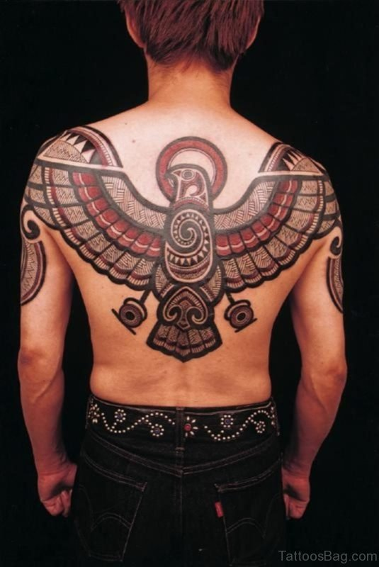 Attractive Eagle Tattoo