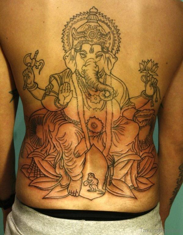 Attractive Ganesha Tattoo Design