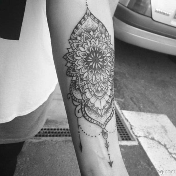 Attractive Mandala Tattoo