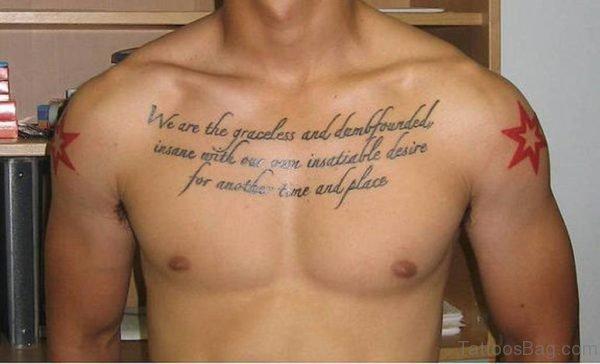 Attractive Wording Tattoo Design