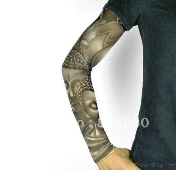 Avatar Buddha Tattoo Design
