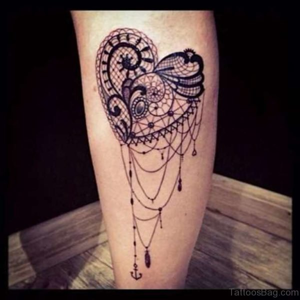 Aweosme Heart Tattoo
