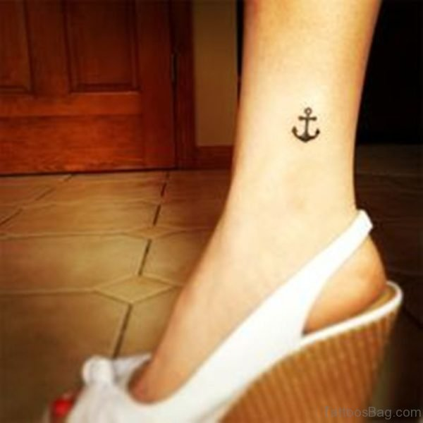 Awesome Anchor Tattoo