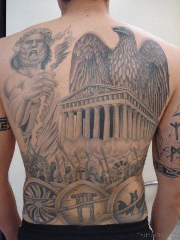 Awesome Back Tattoo