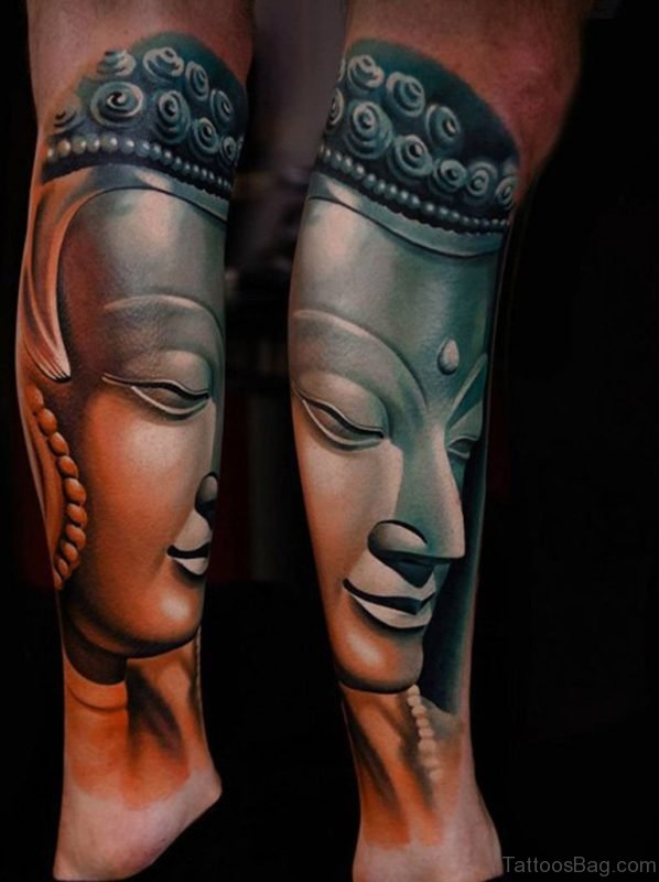 Awesome Buddha Tattoo