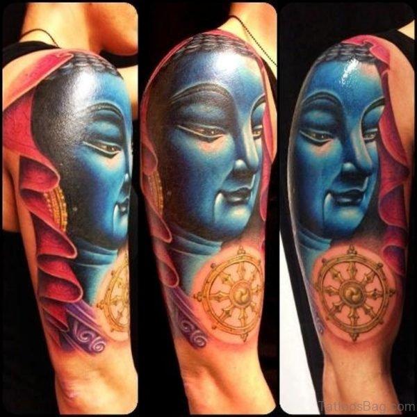 Awesome Buddha Tattoo