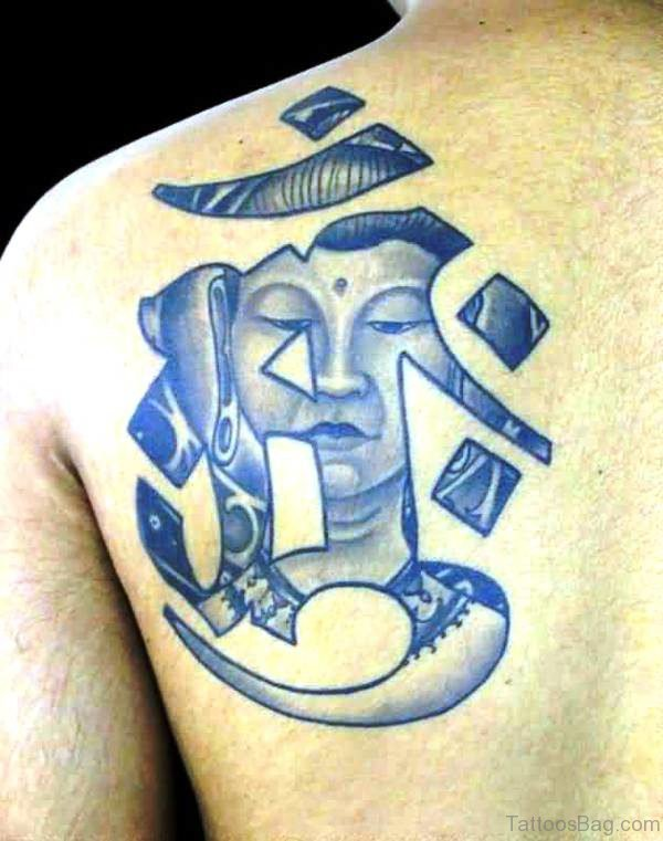 Awesome Buddha Tattoo Design 1