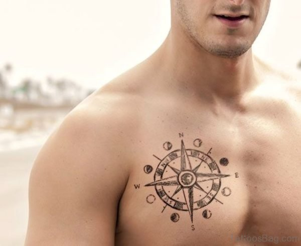 Awesome Compass Tattoo