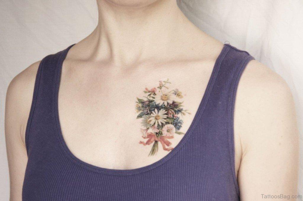 75 pretty flowers tattoos on chest awesome flower tattoo design mightylinksfo
