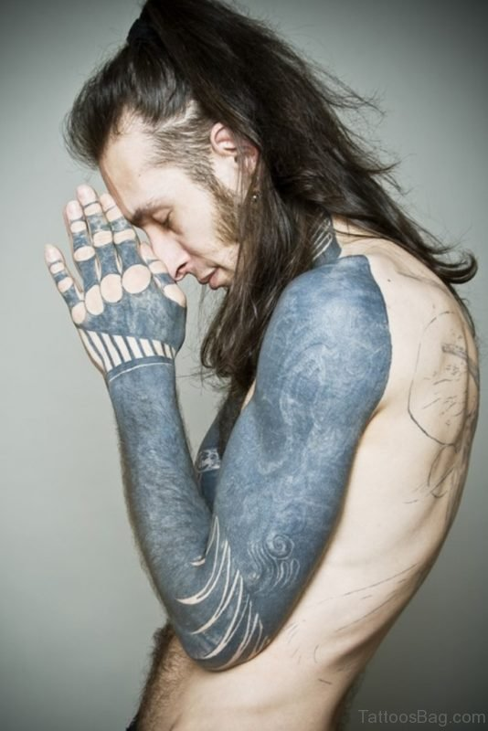 Awesome Full Sleeve Tattoo For Men