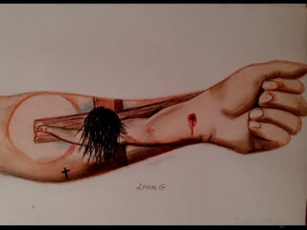 Awesome Jesus Tattoo