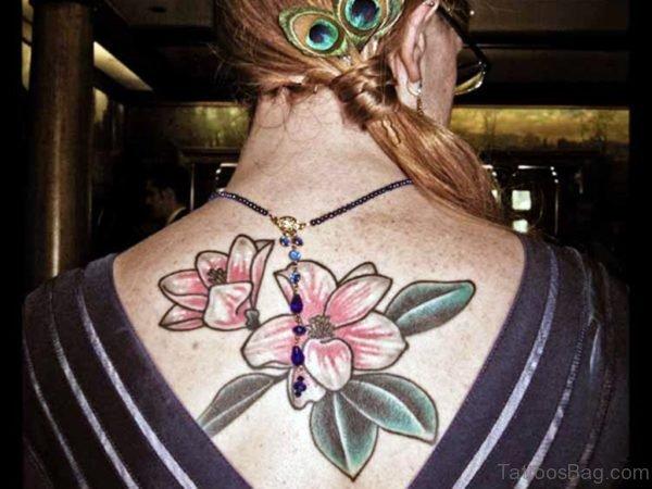 Awesome Magnolia Tattoo