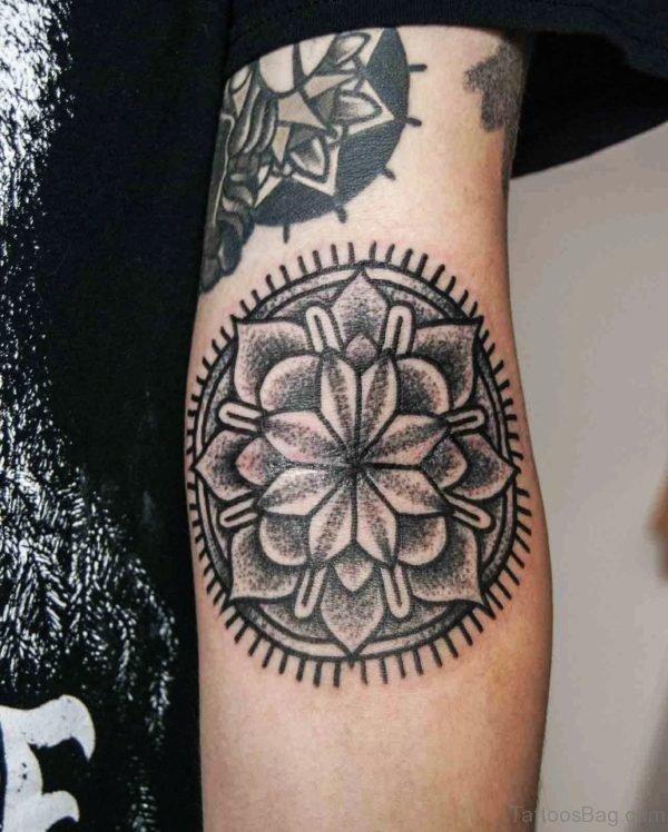Awesome Mandala Tattoo On Arm