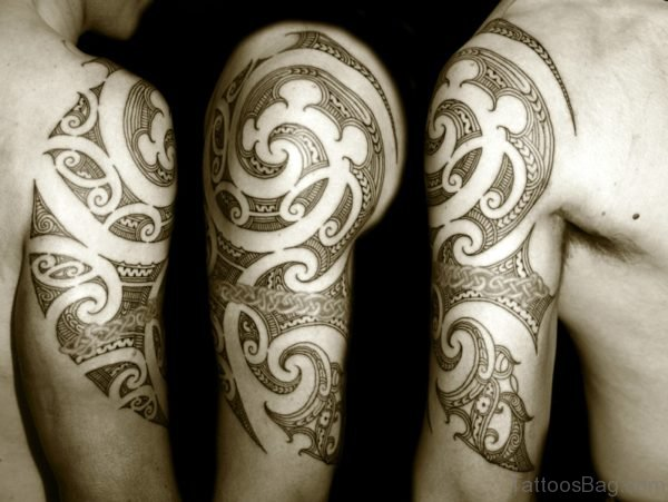 Awesome Maori Tattoo
