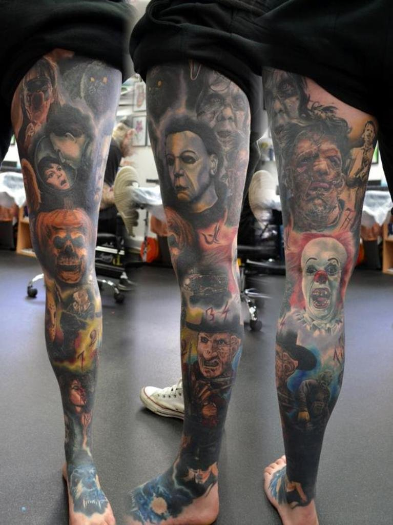 Portrait Tattoo Sleeve Ideas: 50 Outstanding Portrait Tattoos For Leg