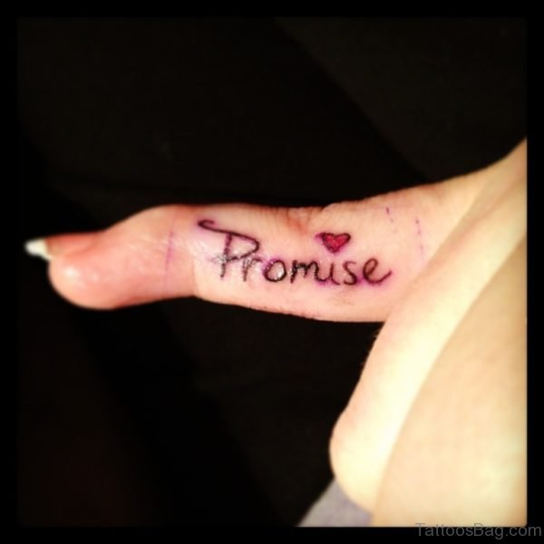 Awesome Promise Tattoo