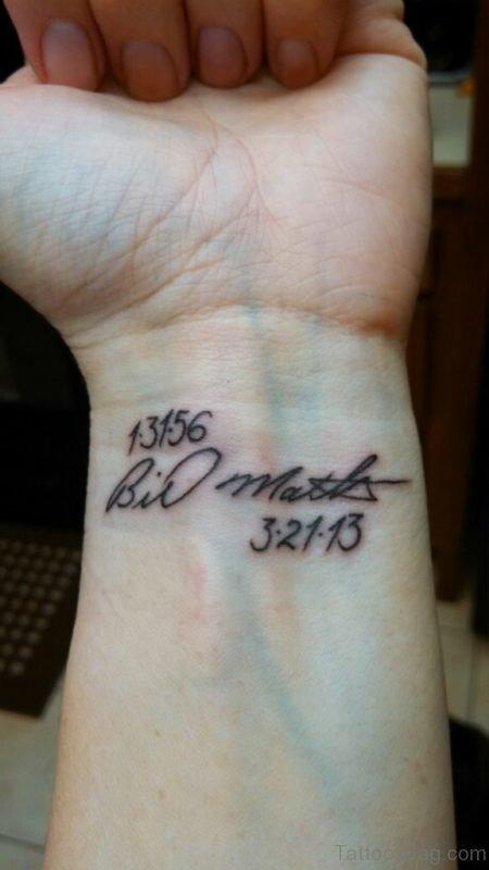 Awesome Wrist Tattoo