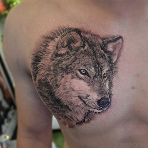 Awesoome Wolf Tattoo