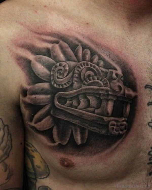 Aztec Animal Tattoo