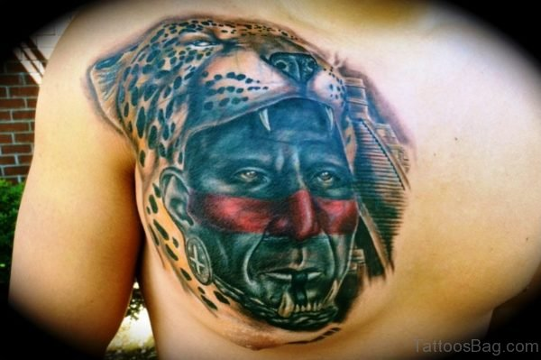 Aztec Jaguar Tattoo