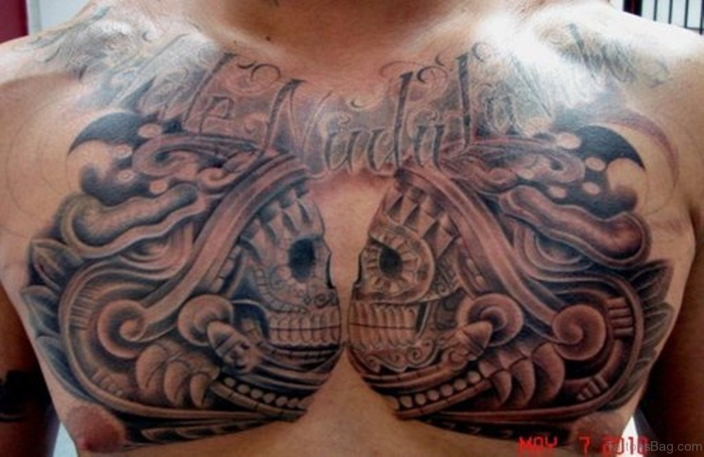 50 Classy Aztec Tattoos Designs On Chest